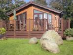 August Hill Lodge Polperro heated pool/facilities