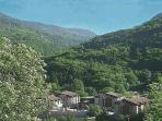 Stunning mountain scenery and verdant views of Les Cybeles in summer