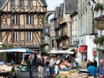 Morlaix market is every Saturday morning