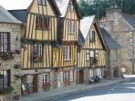 Part of the old town of Fougeres