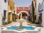Gated Ornate Courtyard