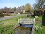 A view of Rockbourne village