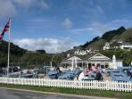 The Winking Prawn Beach Café, Salcombe
