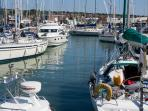 Various marinas close by