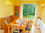 Dining Room with garden access and views
