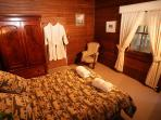 Main Bedroom soft top Queen Bed,egyptian lines,dressing gowns