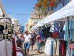 The Wednesday Morning Market in Playa San Juan