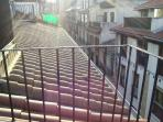 Vista desde la terracita