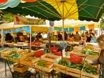 One of many wonderful markets throughout the region...