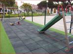 Parque infantil cerrado