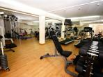 On-site gym at your disposal