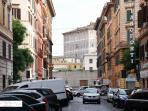 Street and Vatican Walls