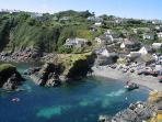 Cadgwith Cove (3 miles away)