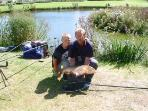 Fishing at Hazelwood Park