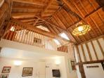 Swift Barn Roof Timbers