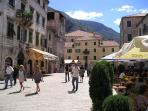 Cafe  culture  -  In Kotor  by  day