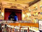 a bookstore.....El Atheneo around the corner!