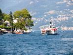 Boat in Tremezzo