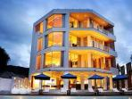 Luxury beachfront penthouse , all the top floor of a high end boutique resort