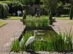 A very special feature is the walled garden with ponds & fountains perfect for relaxing