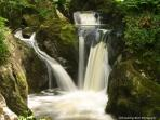 the waterfalls Ingleton a fabulous walk  with breath taking views