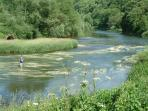 Walk, canoe or cycle along the River Wye