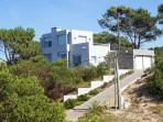 Beach Villa on a high dune