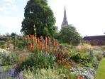 Bishops Palace gardens Chichester