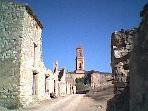 Corbera d´Ebre, destroyed in the Civil War, and now a Heritage Site ( 25 kms.)