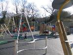 fabulous children s play area and riverside picnic area two minutes walk from bank house