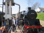 SWANAGE RAILWAY TRIPS TO CORFE CASTLE 5 MINS WALK FROM HOUSE
