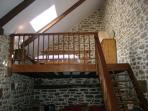 The mezzanine in 'The Barn'
