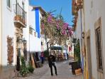 The streets of Óbidos