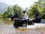 Atv Safari near by Villa Betty
