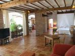 Romantico Loft  de 110 metros en Villa con jardin
