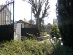 Entrance of the Jardin Secret