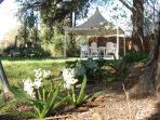 Le Jardin Secret B&B, view on the garden