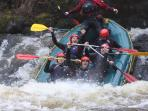 Whitewater Rafting Centre near Bala is in our opinion the best in the country and a must do activity