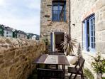 Waterside terrace ideal for al-fresco dining