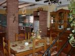 salón-comedor y cocina