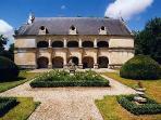 The chateau at Dampierre sur Boutonne