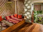 Oriental style retreat for afternoon siesta