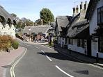 The charming, quaint Shanklin Old Village, just around the corner from The Albury