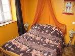 african bedroom