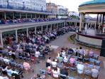 See concerts at the bandstand just a few minutes walk away