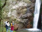 Ruta a las cascadas de Oneta. Facil y corta.