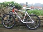 Bicicletas GRATUITAS a disposición de los clientes.