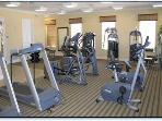 The modern gymnasium with it's various keep fit gadgets