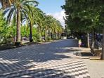 MAIN PROMENADE SQUARE IN THE NEARBY TOWN OF NOIA - RELAX IN ONE OF ITS GREAT TERRACE BARS