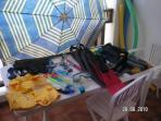 Articulos de playa disponibles